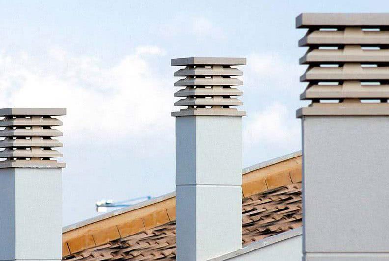 Instalaciones de Sombreretes y Mallazos anti-pájaros en Chimeneas